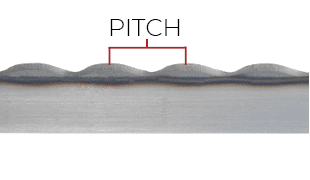 Demonstration of pitch on a B-3 blade