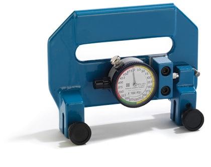 A blue tension meter